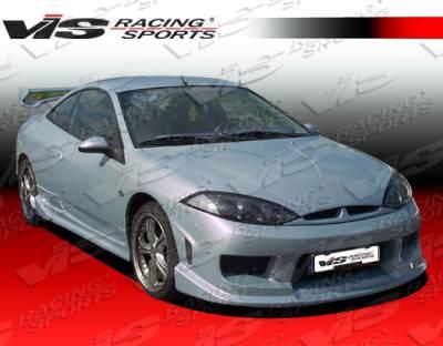 VIS Racing - Mercury Cougar VIS Racing Invader Side Skirts - 99MYCOU2DINV-004
