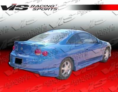 VIS Racing - Mercury Cougar VIS Racing Striker Side Skirts - 99MYCOU2DSTR-004