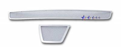 APS - Nissan Rogue APS Wire Mesh Grille - Bumper - Stainless Steel - N76634T