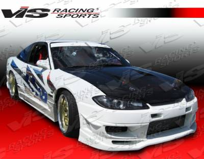 VIS Racing - Nissan Silvia VIS Racing Cyber-2 Side Skirts - 99NSS152DCY2-004