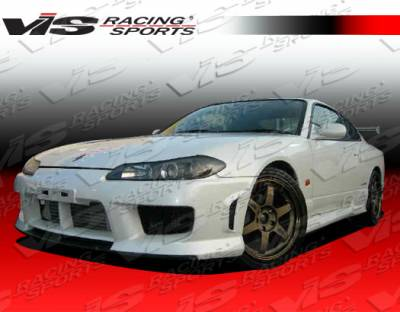 VIS Racing - Nissan Silvia VIS Racing Techno R Side Skirts - 99NSS152DTNR-004