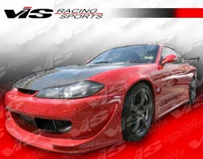 VIS Racing. - Nissan Silvia VIS Racing V Speed Widebody Side Skirts - 99NSS152DVSPWB-004