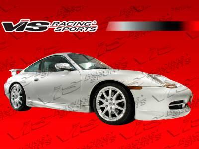 VIS Racing - Porsche 911 VIS Racing D3 Side Skirts - 99PS9962DD3-004