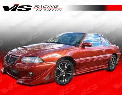 VIS Racing - Pontiac Grand Am VIS Racing Ballistix Side Skirts - 99PTGAM4DBX-004