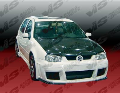 VIS Racing - Volkswagen Golf VIS Racing G-55 Side Skirts - 99VWGOF2DG55-004