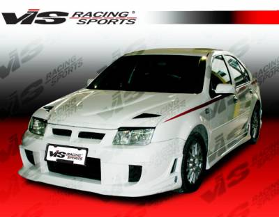 VIS Racing - Volkswagen Jetta VIS Racing Blaze Side Skirts - 99VWJET4DBD-004
