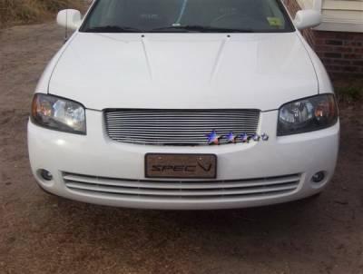 APS - Nissan Sentra APS Billet Grille - Upper - Aluminum - N85402A