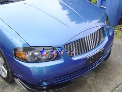 APS - Nissan Sentra APS Billet Grille - Upper - Stainless Steel - N85402S