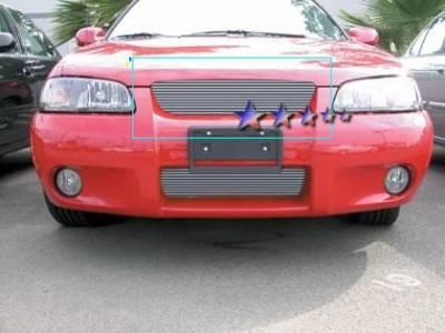 APS - Nissan Sentra APS Billet Grille - Upper - Aluminum - N85404A