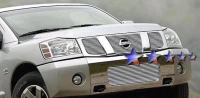 APS - Nissan Titan APS Billet Grille - Bumper - Aluminum - N85413A