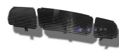 APS - Nissan Titan APS Billet Grille - Upper - Aluminum - N85422A
