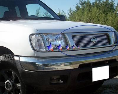 APS - Nissan Frontier APS Billet Grille - Upper - Aluminum - N85439A