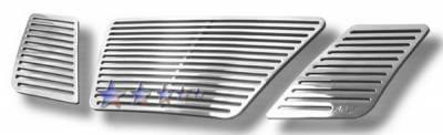 APS - Nissan Pathfinder APS CNC Grille - Upper - Aluminum - N96432A