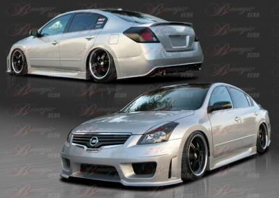 AIT Racing - Nissan Altima AIT Racing Wondrous Style B-Magic Complete Body Kit - NA07BMGLSCK4