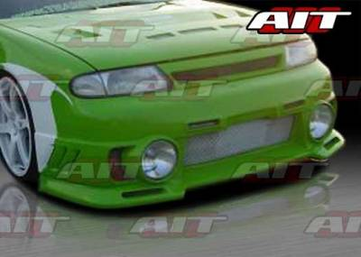AIT Racing - Nissan Altima AIT EVO-3-L Style Front Bumper - NA93HIEVO3FBL