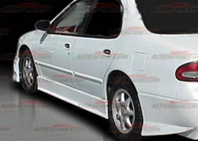 AIT Racing - Nissan Altima AIT Racing EVO Style Side Skirts - NA93HIEVOSS