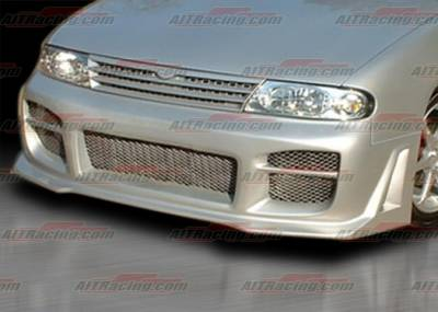 AIT Racing - Nissan Altima AIT Racing R34 Style Front Bumper - NA93HIR34FB