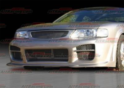 AIT Racing - Nissan Maxima AIT Racing R34 Style Front Bumper - NM95HIR34FB