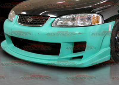 AIT Racing - Nissan Sentra AIT Racing BMX Style Front Bumper - NS00HIBMXFB