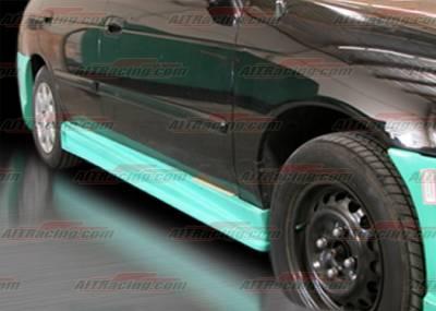 AIT Racing - Nissan Sentra AIT Racing BMX Style Side Skirts - NS00HIBMXSS