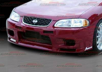 AIT Racing - Nissan Sentra AIT Racing R33 Style Front Bumper - NS00HIR33FB