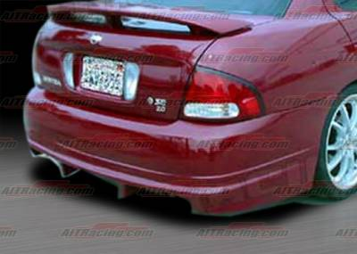 AIT Racing - Nissan Sentra AIT Racing R33 Style Rear Bumper - NS00HIR33RB