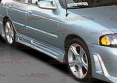 AIT Racing - Nissan Sentra AIT Racing R33 Style Side Skirts - NS00HIR33SS