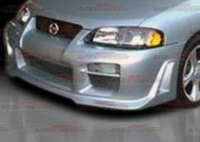 AIT Racing - Nissan Sentra AIT Racing R34 Style Front Bumper - NS04HIR34FB