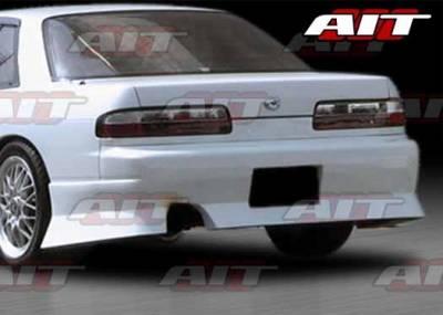 AIT Racing - Nissan Silvia AIT M4 Style Rear Bumper - NS1389HIURARB
