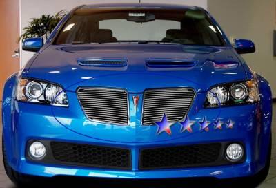 APS - Pontiac G8 APS Billet Grille - Upper - Aluminum - P67214A