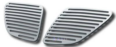 APS - Pontiac G6 APS CNC Grille - Upper - Aluminum - P95130A