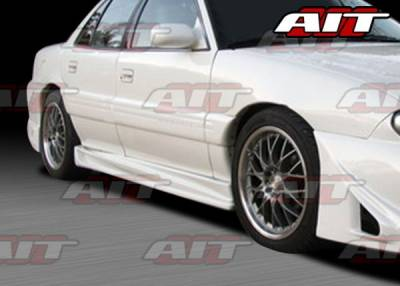 AIT Racing - Pontiac Grand Am AIT Combat Style Side Skirts - PG96HICBSSS