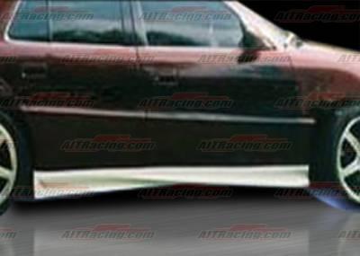 AIT Racing - Pontiac Grand Am AIT Racing VS Style Side Skirts - PG99HIVSSS4