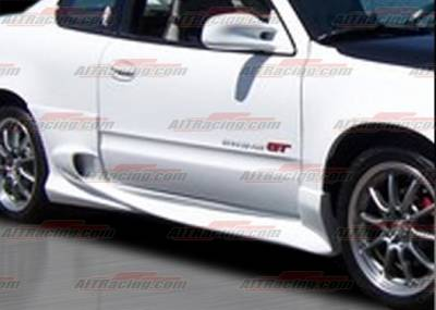 AIT Racing - Pontiac Grand Am AIT Racing VS Style Side Skirts - PG99HIVSSSS2