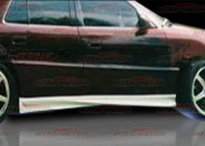 AIT Racing - Pontiac Grand Am AIT Racing VS Style Side Skirts - PG99HIVSSSS4