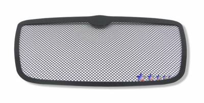 APS - Chrysler 300 APS Black Wire Mesh Grille - Upper - Stainless Steel - R75300H