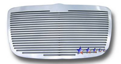 APS - Chrysler 300 APS CNC Grille - Upper - Aluminum - R95300A