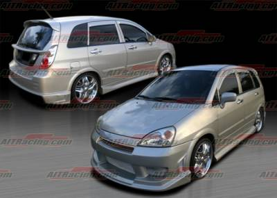 AIT Racing - Suzuki Aerio AIT Racing Drift Style Complete Body Kit - SA02HIDFSCK