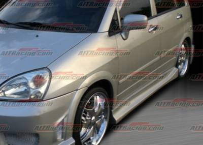 AIT Racing - Suzuki Aerio AIT Racing Drift Style Side Skirts - SA02HIDFSSS