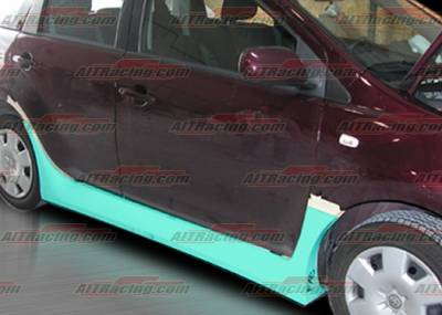 AIT Racing - Scion xA AIT Racing FAB Style Side Skirts - SA04HIFABSS