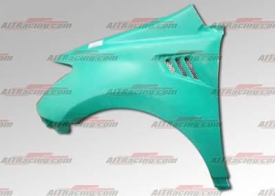 AIT Racing - Scion xA AIT Racing MLB Style Fenders - SA04HIMLBFF