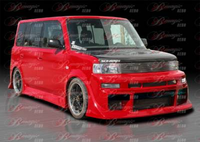 AIT Racing - Scion xB AIT Racing Diablo Style Front Bumper - SB04BMDIBFB