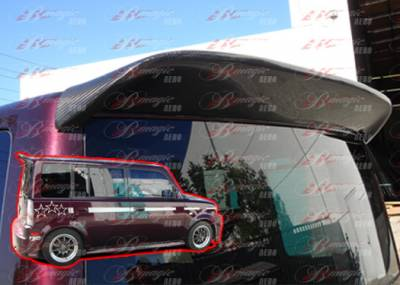 AIT Racing - Scion xB AIT Racing K1 Style Rear Roof Wing - SB04BMK1SRWC