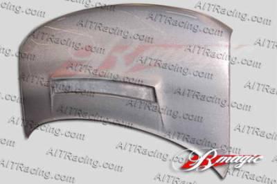 AIT Racing - Scion xB AIT Racing N1 Style Texium Fiber Hood - SB04BMN1SCFHS