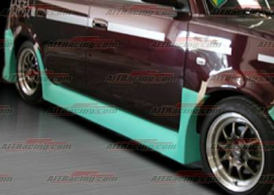 AIT Racing - Scion xB AIT Racing FAB Style Side Skirts - SB04HIFABSS