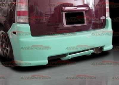AIT Racing - Scion xB AIT Racing V-spec Style Rear Bumper - SB04HIVSSRB
