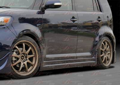 AIT Racing - Scion xB AIT Racing DL Style B-Magic Side Skirt - Driver Side - SB08BMDLSSSDU