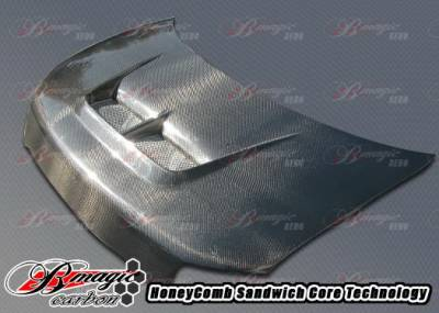 AIT Racing - Scion xB AIT Racing Monster Style Hood - SB08BMMSTCFH