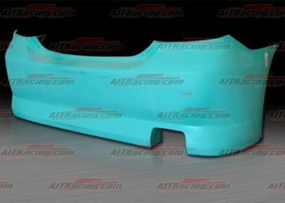 AIT Racing - Scion tC AIT Racing Fantastic Style Rear Bumper - SC04HIFABRB
