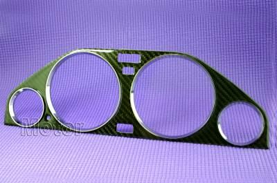 Custom - Carbon Fiber Bezel with Chrome Rings